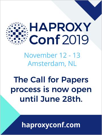 HAProxyConf 2019 - Amsterdam