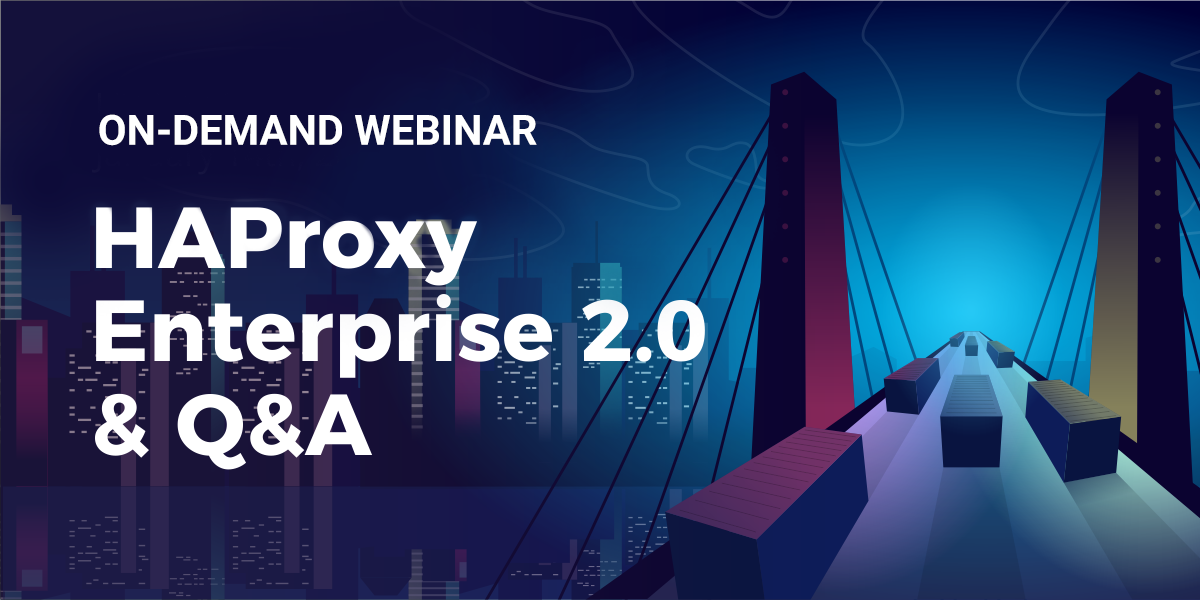 HAProxy Enterprise 2.0